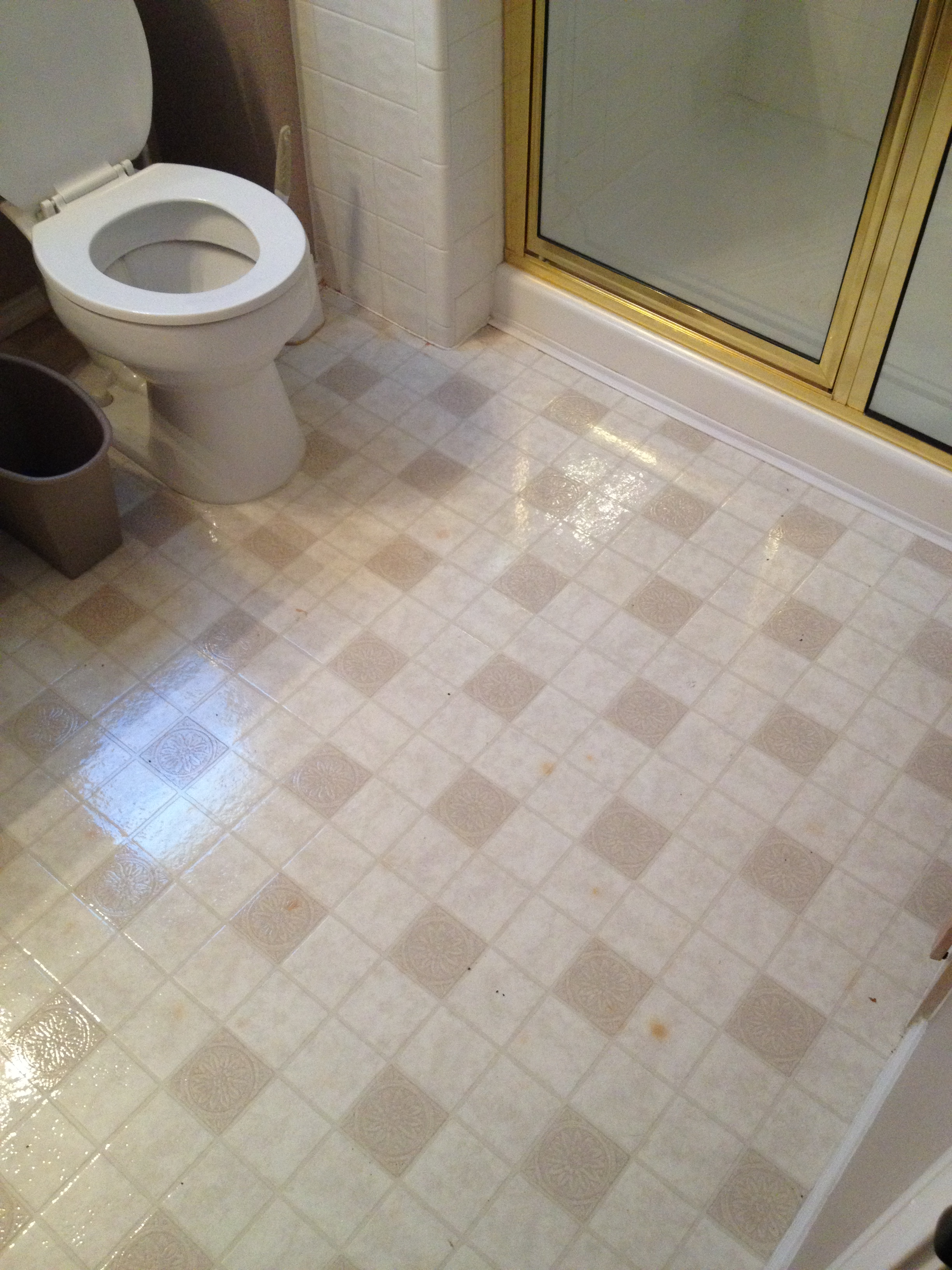 Replacing linoleum flooring in bathroom for Lino flooring for bathrooms